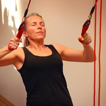 redcord, active, carga, biomecánica, cadena, muscular